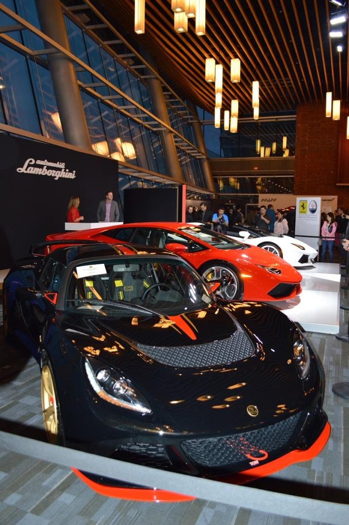 Lotus and Lamborghini