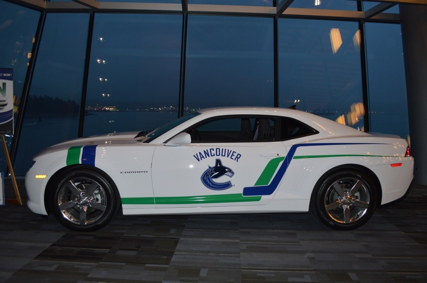 Canucks' Camaro