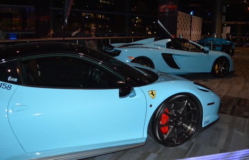 Ferrari and McLaren
